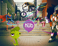 Hub Network - Rebrand