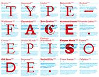Typeface episode