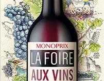 MONOPRIX // Foire Aux Vins 2015