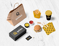Golden Lanches | Identidade Visual
