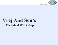 Vrej And Son's Technical Workshop (Farsi And English)