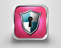 iOS icon for mobile security app