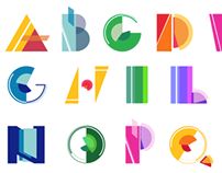 Kinetic Typography: Alphabet