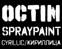 Octin Spraypaint Cyrillic