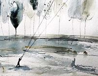 Kitesurfing in Alpago