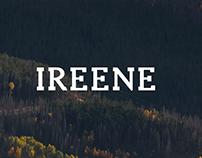 Ireene - Free Serif Font