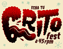 Music poster - Grito Fest 2013