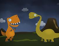 Ethan's prehistoric invite