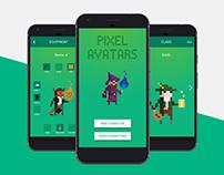 Pixel Avatars - A concept companion app for D&D