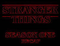Stranger Things - Season 1 Recap