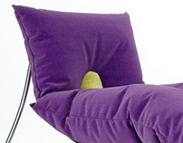 Purple Relaxing Chair