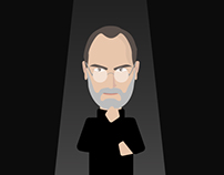Steve Jobs infographics and wallpapers