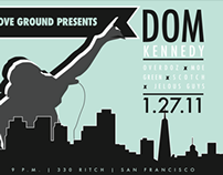 Dom Kennedy Poster/Flyer Event