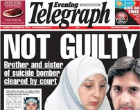 Derby Telegraph Front Pages