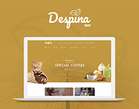 Despina - Coffee / Cake / Bakery Website