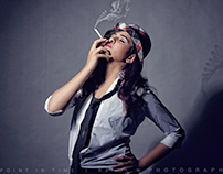 It's Just behind you...smoking injurious to health
