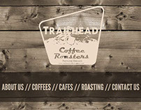 Trailhead Coffee Roasters Web Redesign