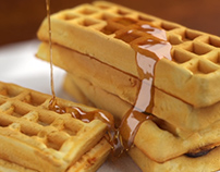 Pouring Honey CG liquid Animation / Food Rendering