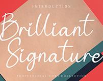 FREE | Brilliant Signature Font
