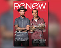 Renew Magazine Spring 2015 Layout & Design