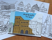 Malbuch Trier / Colouring Book Treves