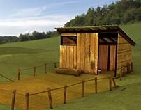 3D Environment: Pig Pen