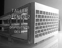 Taller tecnico 2, Dispositivos de luz