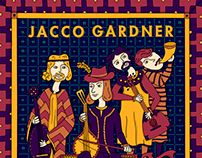 Jacco Gardner Spanish tour  2015+ Ground Control poster