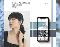 Mobile App Design Online Shopping
