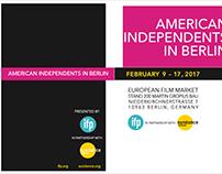 IFP Berlinale, European Film Market Package Kit Design