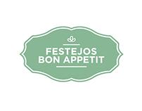 Diseño de Logotipo para Festejos Bon Appetit