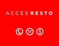 Application mobile Accès Resto