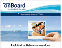 BC Ferries E-Newsletter Redesign