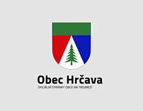 Návrh webu pro obec Hrčava