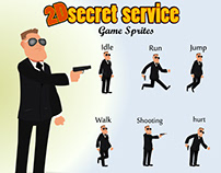 Secret Service sprites