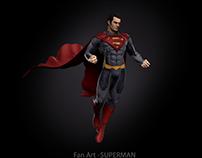 Fan art-superman
