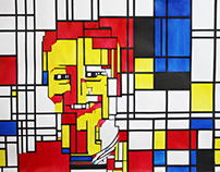 Mondrian Self-Portrait