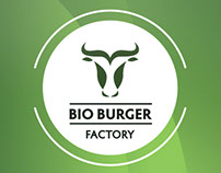 Bio Burger Factory. Identity and corporate style.