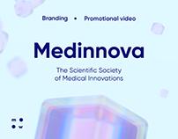 Medinnova / brand guideline & website