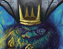 King Butterfly - 2018 Calendar Illustration