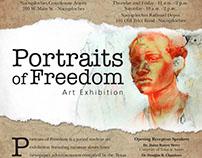 Portraits of Freedom Art Exhibition