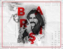 Barış Manço Poster Design