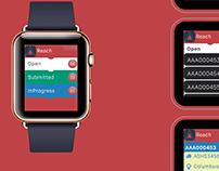 reach24.net Watch App - Concept Design