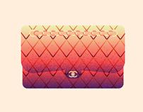 Designer Handbag Illustrations #1