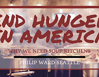 End Hunger in America: Why We Need Soup Kitchens