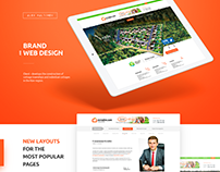 Design for developer of cottages near Kyiv