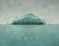 Lost Fan Art Graphic