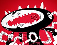 Ottawa Senators themed critter