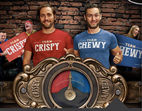 CRISPY vs. CHEWY: digital promotion