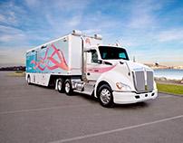 Mammogram Semi Truck